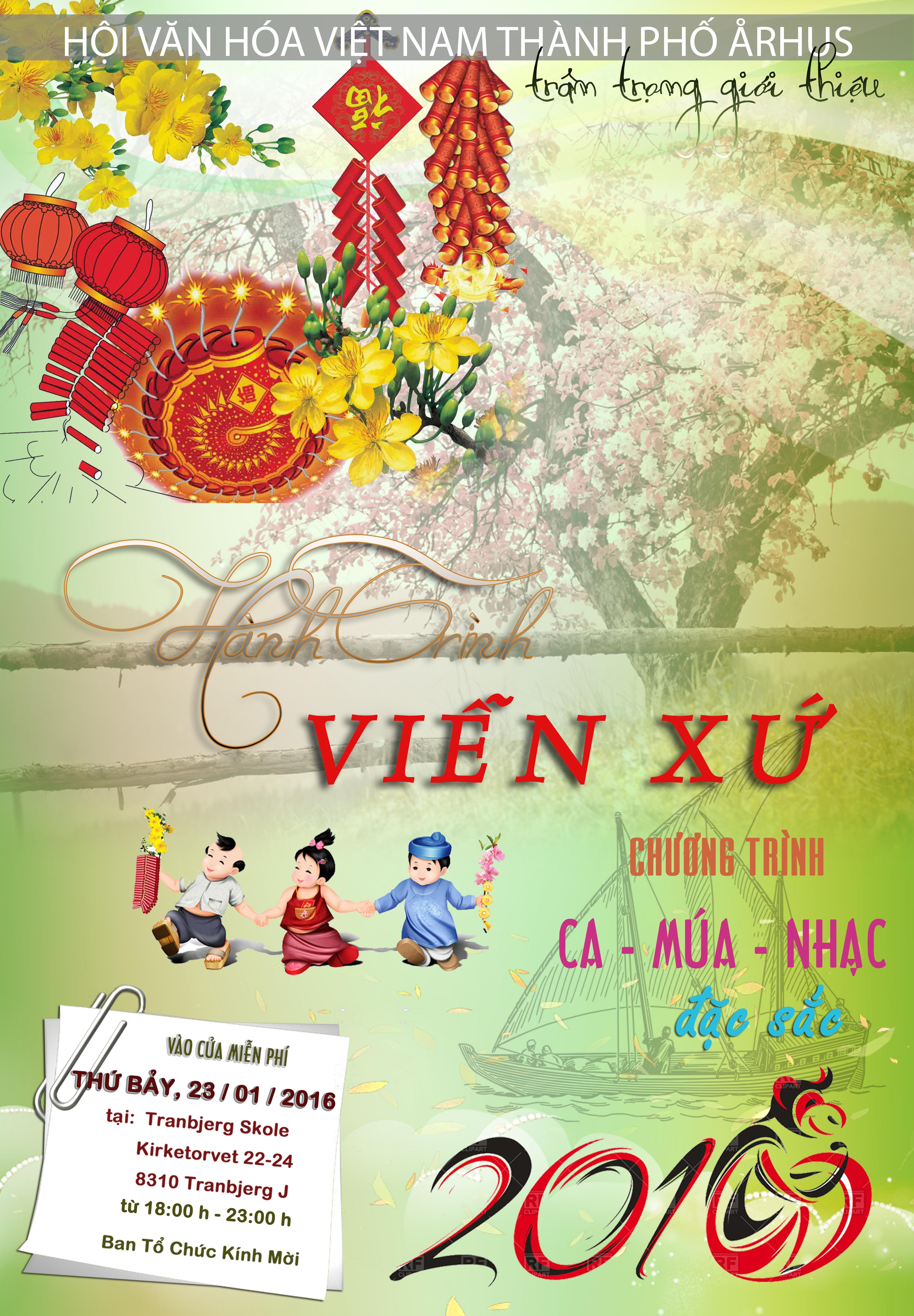 plakat Tet HVH-VN 2016